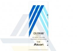 CILOXAN 0.3% EYE DROPS 0.3% 1 Bottle x 5mL