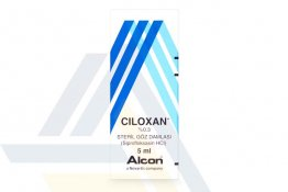 CILOXAN 0.3% EYE DROPS NON ENGLISH 5mL 1 bottle