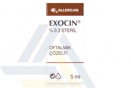EXOCIN 0.3% OPHTHALMIC SOLUTION NON ENGLISH 5mL 1 bottle