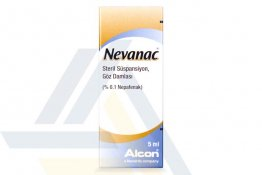 NEVANAC EYE DROP SUSPENSION 0.1% NON ENGLISH 5mL 1 bottle