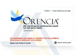ORENCIA® Non-English 250mg/15ml 1 vial