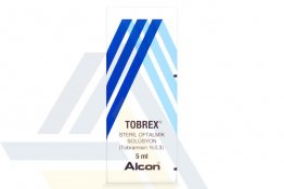 TOBREX OPHTHALMIC SOLUTION 0.3% NON-ENGLISH 5mL 1 Bottle