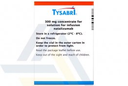 TYSABRI® 300 MG 15mL vial 20 mg/mL 1x15mL vial