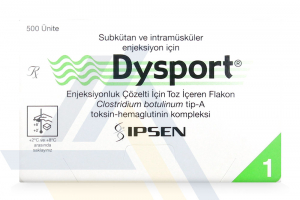 DYSPORT® Non-English 500U 1-3ml vial