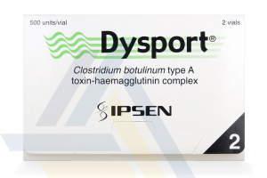 DYSPORT® English 500U 2-3ml vials