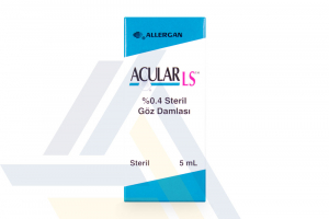ACULAR LS™ 0.4% EYE DROPS NON ENGLISH 5mL 1 Bottle