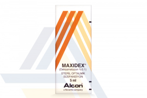 MAXIDEX OPHTHALMIC SUSPENSION 0.1% NON-ENGLISH 5mL 1 bottle